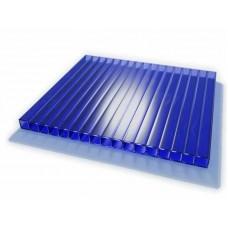 Сотовый Поликарбонат толщина 6 мм Белый, синий