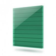 Сотовый Поликарбонат толщина 4 мм Зеленый