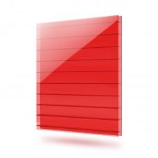 Сотовый Поликарбонат толщина 8 мм Красный