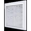 Решетка вентиляционная вытяжная АБС 138х138, беж